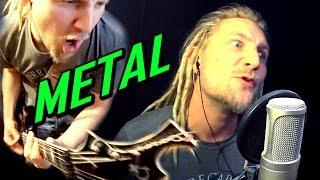 DEEP PURPLE - BLACK NIGHT (Metal Cover)