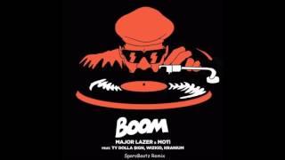 Major Lazer FT MOTI,TY DOLLA $IGN,WIZKID & KRANIUM - Boom (Sparobeatz Remix)