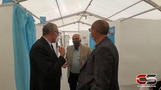 Capo d'Orlando - Hub vaccinale, intervistati il sindaco Ingrillì... - www.canalesicilia.it