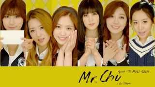 Apink 4TH MINI [Pink Blossom] 'Mr.Chu' Audio