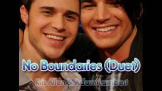 Kris Allen & Adam Lambert - No Boundaries (Duet)