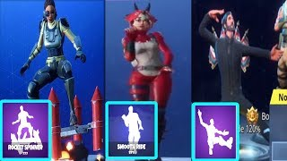 *NEW* Fortnite Season 4 EMOTES/DANCE IN REAL LIFE LEAKED!(SQUAT KICK,SMOOTH RIDE,ROCKET SPINNER)