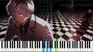 "[Tokyo Ghoul:re (Season 3) OP] ""Asphyxia"" - CöshuNie (Synthesia Piano Tutorial)"