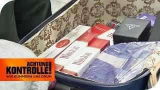 Zigaretten-Schmuggel: Wie viele Stangen hat er dabei? | Achtung Kontrolle | kabel eins
