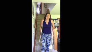 Crutches: Walking Up and Down Stairs With an Non-Weight Bearing Leg