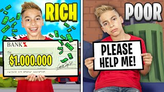 RICH to POOR in ROBLOX BROOKHAVEN! | Royalty Gaming