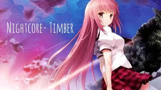 Nightcore- Timber