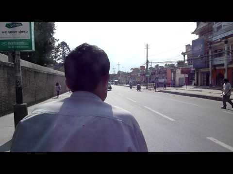 Fahrradrikscha in Kathmandu