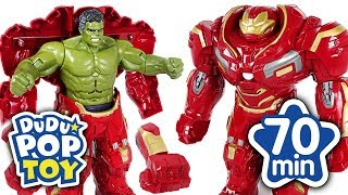 May 2018 TOP 10 Videos 70min Go Avengers #DuDuPopTOY