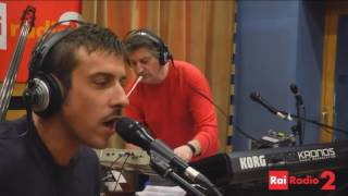 Francesco Gabbani - Svalutation Live @ Radio2 (23.02.2016)
