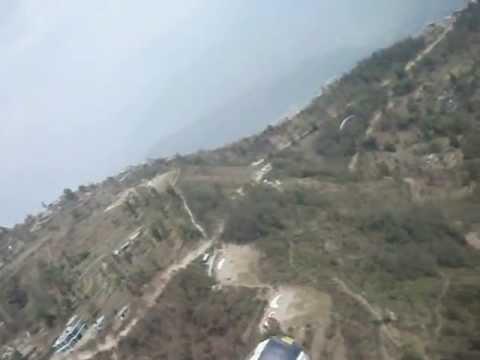 Paragliding at Pokhara, Nepal