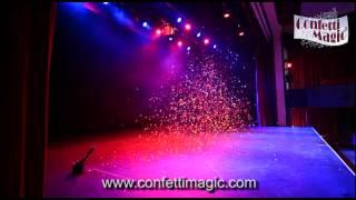 Confetti Cannon Hire - A Single Shot Remote Control System
