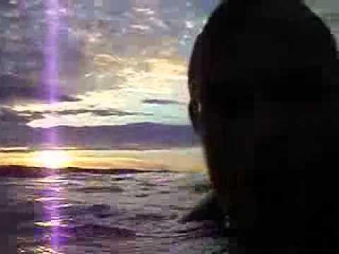 Surf's up i solnedgangen