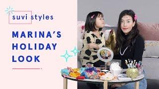 Suvi Gives Marina a Holiday Makeover   Suvi Styles   HiHo Kids