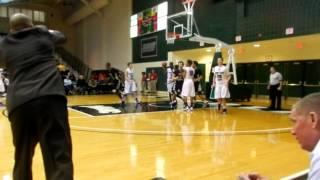 Mackenzie basket John Carroll/Mount St. Joseph basketball BCL semifinals 2/24/13