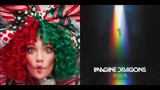 Ho Ho Ho/Believer (Christmas Mashup) Sia vs. Imagine Dragons