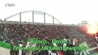 Chant baru !! Super Elja Ale (Brigata Curva Sud) || PSS Sleman Vs Persibat