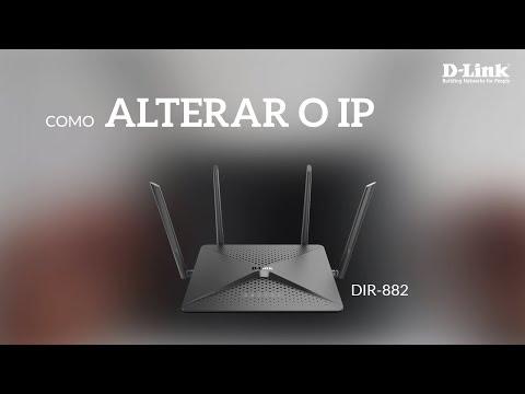 Como alterar o endereço IP do roteador DIR-882