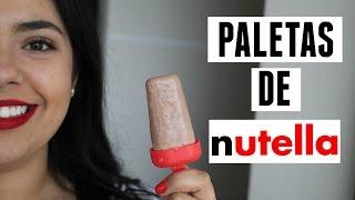 Paletas de Nutella | RebeO
