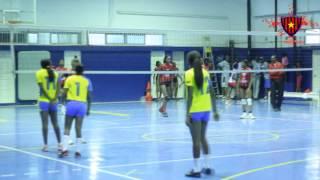 Jogo de Voleibol entre Petro de Luanda  e 1º D´Agosto Play-offs