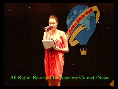 Little Miss World – 2011 Announcement  / Nepalese Council , Kathmandu / Nepal wmv