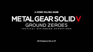 """MGSV: GZ (2014) OST : """"Escape Combat Theme"""" W/Enemy Voice Overs"""