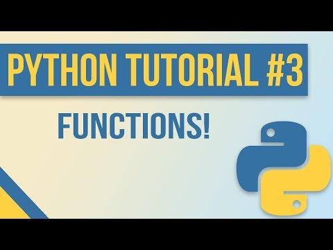 Function Exercises Python 09 2021