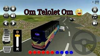 Om Telolet Om wkwkwk Bus Blue Star width=