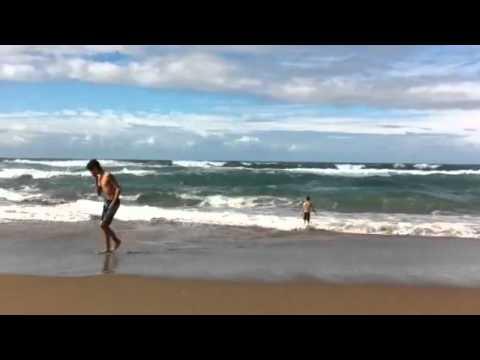 The beach near Sidi Wassay