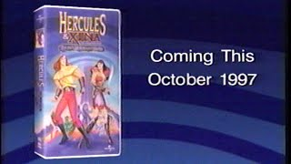 Hercules and Xena - The Battle for Mount Olympus (1998) Trailer 2 (VHS Capture)