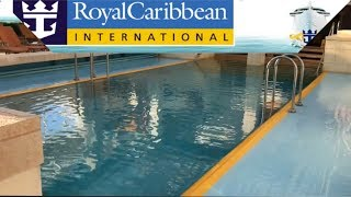 Vision Of the seas cruise ship solarium tour / HD