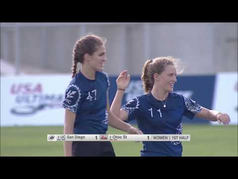 Video Thumbnail: 2019 College Championships, Women's Semifinal: Ohio State vs. UC-San Diego