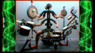 Monkey Drummer by Chris Cunningham & Aphex Twin (1080p HD)