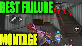 Best Failed Montage in Free fire    free fire funny failure moment   Run Gaming