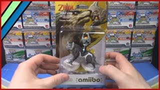 The Legend of Zelda Twilight Princess HD - Wolf Link Amiibo Unboxing