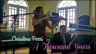 Christina Perri | A Thousand Years | LIVE | Eleganza Violin & Piano Ensemble