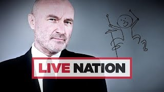 Phil Collins Extends Not Dead Yet Tour To UK Arenas! | Live Nation UK