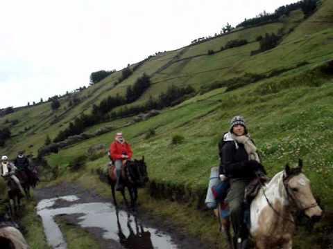 Ecuador Horseback Riding Mt Chimborazo 2009