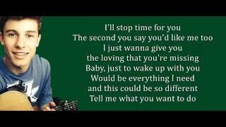 Shawn mendes - Treat You Better Lyrics
