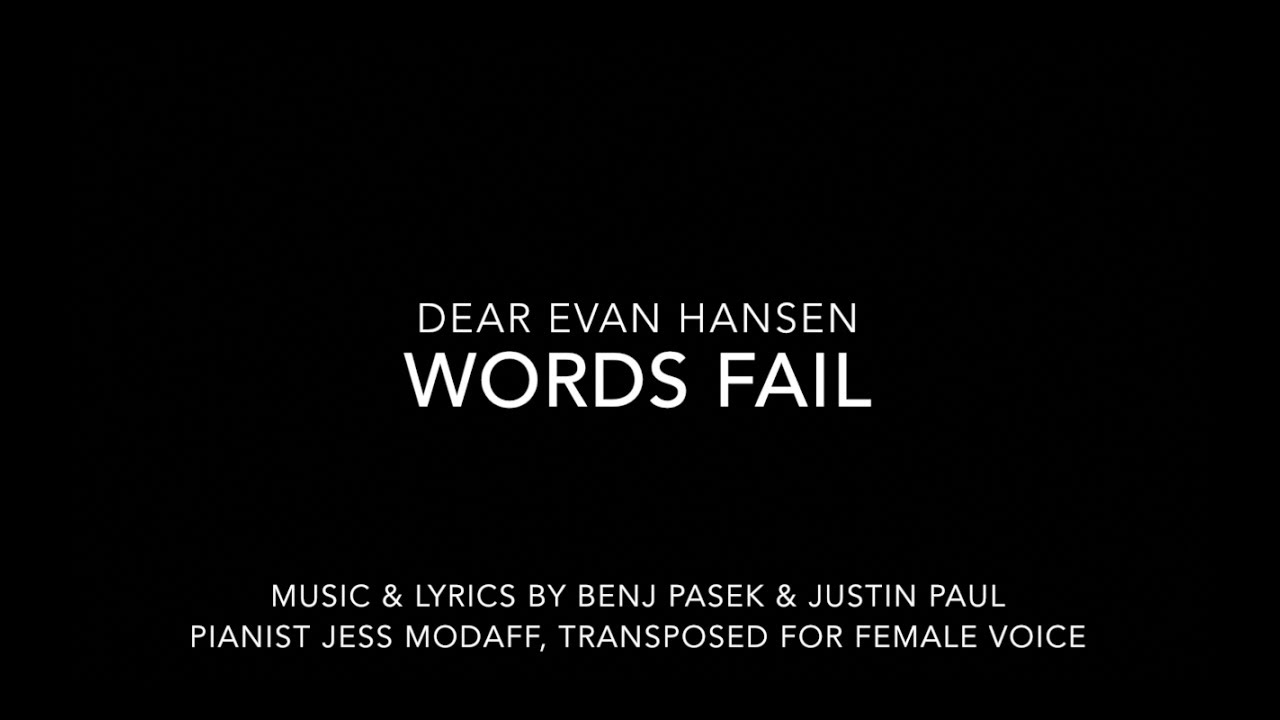 Dear Evan Hansen Tour South Florida September