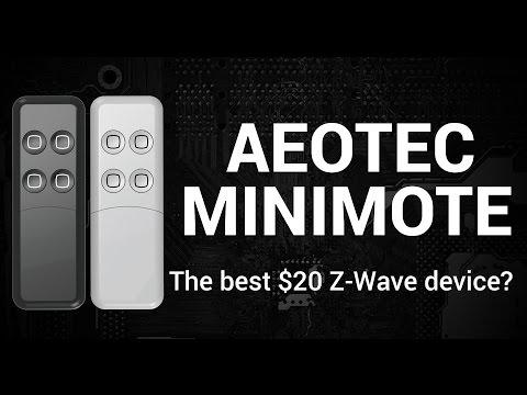 Z-Wave | Aeotec Z-Wave Minimote