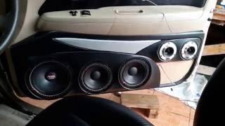 เครื่องเสียงรถยนต์ เทสเสียงกลาง 8+6+4+4