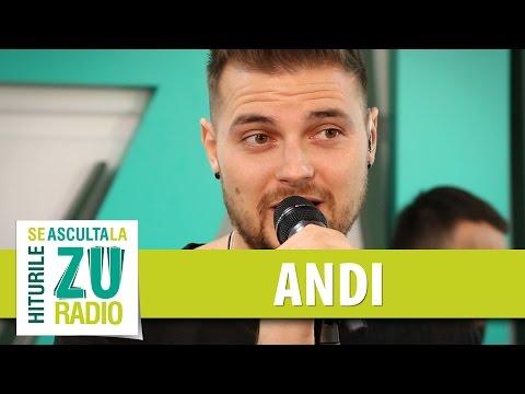 Andi - Fluturi (Live la Radio ZU)