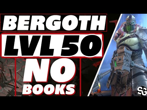 Bergoth lvl 50 no books GAMEPLAY Raid Shadow Legends Bergoth guide masteries