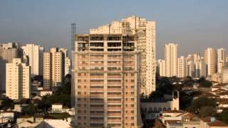 construção de um prédio em um minuto