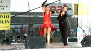 Nadwiślańskie Chmielaki 2008 - Karol Maryniowski i Klaudia Wyka - rumba