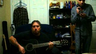 Bush - Swallowed acoustic cover