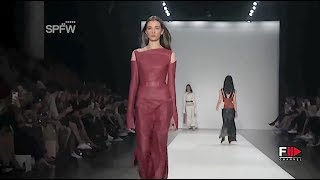GLORIA COELHO Fall 2016 Sao Paulo - Fashion Channel
