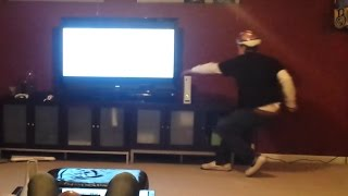 Bashing Dad's Xbox - DAD FREAKS OUT!!!