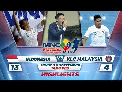 Download Video HEBAT BANGET! Indonesia VS KLC Malaysia (FT: 13-4) - MNC Futsal Championship 2019